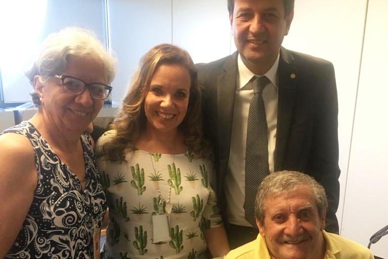 AFAG se reúne com futuro ministro da saúde Luiz Mandetta em Brasília